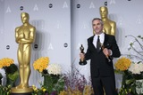 Alfonso Cuaron Photo - Alfonso Cuaron Poses in the Press Room During the Oscars at Loews Hollywood Hotel on March 2nd 2014 Hollywood Californiausa PhototloweGlobephotos