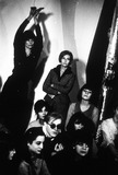 Andy Warhol Photo - Andy Warhol Factory  New York Superstars Andy Warhol with Susan Bottomly I2962bn Photo by Billy Name-ipol-Globe Photos Inc