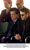 Bonnie Lee Bakley Photo - Actor Robert Blake center his son Noah Blake right wearing sunglasses pause in front of the coffin bearing Robert Blakes  slain mother Bonny Lee Bakley during a brief funeral ceremony in Los Angeles Friday May 25 2001 Behind them are Robert Blakes assistant Earle Caldwell and an unidentified womanPHOTO SUPPLIED BY GLOBE PHOTOS INCAP POOL K21950NP