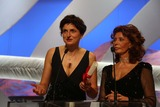 Alice Rohrwacher Photo - Grand Prix Winning Director Alice Rohrwacher (L) and Sophia Loren Attend the Closing Ceremony of the 67th Cannes International Film Festival at Palais Des Festivals in Cannes France on 23 May 2014 Photo Alec Michael