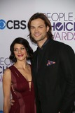 Jared Padalecki Photo - Actor Jared Padalecki and His Wife Genevieve Attend the 39th Annual Peoples Choice Awards at Nokia Theatre at LA Live in Los Angeles USA on 09 January 2013 Photo Alec Michael Photos by Alec Michael-Globe Photos Inc
