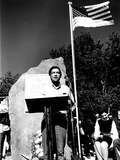 Cesar Chavez Photo - Cesar Chavez Speaks at the Dedication of the Lattimer Massacre Memorial Lattimer PA 9101972 H Scott HeistGlobe Photos Inc