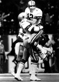 Roger Staubach Photo - Ron Springs and Roger Staubach at Texas Stadium David WooGlobe Photos Inc