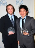 Steve Chen Photo - Chad Hurley Steve Chen Vanguard Award Founder of You Tube 2008 Producers Guild of America Awards Pressroom Beverly Hilton Hotel Beverly Hills CA 02-02-2008 Photo by Graham Whitby Boot-allstar-Globe