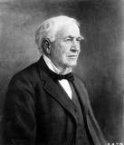 Thomas Edison Photo - Thomas a Edison Globe Photos Inc