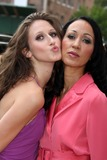 Anna Cleveland Photo - -12-08 Pat Cleveland  Daughter Anna Cleveland the Tyra Banks Show Celebrates 1st All Black Issue of Vogue Italia Outside of Studio W26st Photos by John Barrett-Globe Photosinc