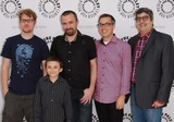 Atticus Shaffer Photo - Justin Rolland Atticus Shaffer Maxwell Atoms Noah Z Jones Dana Snyder the Paley Center For Media Presents Paleyfest Family - Fish Hooks Held at the Paley Center For Media Beverly Hills CA August 13 - 2011 Photo TleopoldGlobephotos