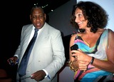 Andr Talley Photo - Andre Leon Talley and Diane Von Furstenberg K30951rhart Andre Leon Talleys Dinner Party at Diane Von Furstenberg Studio in New York City 612003 Photo Byrose HartmanGlobe Photos Inc