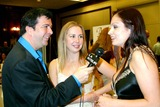 Aria Giovanni Photo - Glamourcon 2003 at the Radisson Hotel Lax Los Angeles CA 11152003 Photo by Clinton H Wallace  Ipol  Globe Photos Inc 2003 James Bartholet Interviews Aria Giovanni As Holly Randall Looks on ( Daughter of Famous Glamour Photographer Suze Randall )