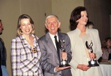 Aaron Spelling Photo - Aaron Spelling with Diane Engish 1995 Photo by Doughton-michelson-Globe Photos Inc