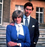 Lady Diana Photo - -24-81 Hrh Prince of Wales and Lady Diana Spencer on the Day Their Engagement Is Announced Credit Uppa Ipolinc I1236uppa B39 038146 Credit UppaipolGlobe Photos Inc Credit UppaipolGlobe Photos Inc