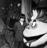 HR Pufnstuf Photo - Jack Wild Looks at the Props to Be Used in His New Show Hr Pufnstuf Kroft Studios San Fernando Valley 1969 Photo by Globe Photos