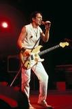 Joe Strummer Photo - the Clash in Concert in Vienna Austria 10-1981 Photo by Felix Zeitlhofer-pr-Globe Photos 1181-3 Joe Strummer