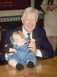 Jimmy Carter Photo - Jimmy Carter at Booksigning the Little Baby Snoogle Fleeter 1995 K3434ww Photo by Walter Weissman-Globe Photos Inc