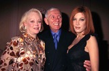 Aaron Spelling Photo - Fox Television Party Perinos Restaurant Los Angeles 01-16-1999 Aaron Spelling with Wife Candy Spelling and Daughter Tori Spelling Photo by Tammie Arroyo-ipol-Globe Photos Inc