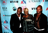 Andre Harrell Photo - 2nd Quincy Jones Achievement Award Honoring Mary J Blige Photo by Rick MacklerrangefinderGlobe Photos Inc 2002 Andre Harrell Mary J Blige Emil Wilbekin