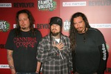 Fieldy Photo - the Family Values Tour 2007 Premiere Party Hollywood Forever Cemetary Hollywood California 04-19-2007 Jonathan Davis and Fieldy and James Munky Schaffer of Korn Photo Clinton H Wallace-photomundo-Globe Photos Inc