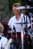 Adrian Young Photo - Gwen Stefani and Group No Doubt (1st Time in 5 Years That They Have Played Together) on Nbcs Today Show Concert Series at Rockfeller Plaza NYC 05-01-2009 Photo by Ken Babolocsay-ipol-Globe Photosinc 2009 Adrian Young