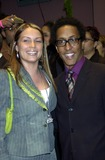 Andre Royo Photo - Party to Celebrate the Re-opening of the Legendary Copacabana Nightclub in New York City 10172002 Photo by John KrondesGlobe Photos Inc G 2002 Angie Martineez and Andre Royo
