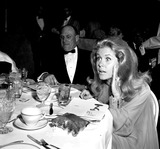 Elizabeth Montgomery Photo - Elizabeth Montgomery and William Asher at the Emmy Awards a923-1 Nate CutlerGlobe Photos Inc