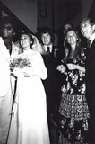 Michael Cole Photo - Michael Cole Paula Dickinson Kelly Wedding 1971 Supplied by Globe Photos Inc