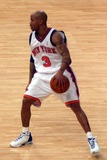 Stephen Marbury Photo - New York Knicks Vs the Cleveland Cavaliers at Madison Square Garden (Msg) New York City 02222004 Photo John Barrett Globe Photos Inc 2004 Stephen Marbury