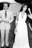 Jacqueline Bisset Photo - Jacqueline Bisset and Francois Truffault at a Movie Premiere in Hollywood 71973 1970s Phil RoachipolGlobe Photos Inc