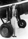 Amelia Earhart Photo - Amelia Earhart 1937 Photo by Globe Photos