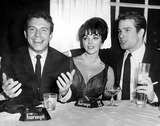 Anthony Franciosa Photo - Anthony Franciosa Joan Collins and Warren Beatty at a Party at the Harwyn Club 1960 SmpGlobe Photos Inc Joancollinsretro