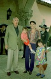Anthony Quinn Photo - Anthony Quinn with His Wife Kathya and Their Children Antonia Y Ryan at Donald Trumps Mansion at Palm Beach (Florida) Radial Press Credit Photographer NameipolGlobe Photos Inc Dtrumpmn