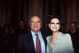 Henri Verneuil Photo - Imapressjean Fititjian- 14-02-96- Henri Verneuil Avec Claudia Cardinale (the French Director Henri Verneuil Passed Away Today 1112002 at the Age of 81) Credit ImapressGlobe Photos Inc