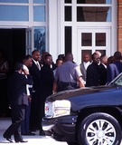 Left Eye Lopes Photo - Funeral Services For Lisa Left Eye Lopes Georgia 050202 Photo by John KrondesGlobe Photos Inc2002 Bobby Brown
