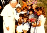 John Paul Photo - Pope John Paul Ii on Holiday in Val Daosta Italy Photo O Ferrario  Globe Photos Inc 1991
