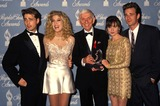 Aaron Spelling Photo - Jason Priestley Tori Spelling Aaron Spelling Shannon Doherty and Luke Perry Photo by Phil Roach-ipol-Globe Photos Inc