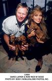 Darcy LaPier Photo - Darci Lapier  Row Rice W Dogs Photo by Bob V NobleGlobe Photos Inc
