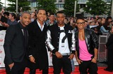 Aston Merrygold Photo - Jb Gill Marvin Humes Oritse Williams  Aston merrygoldjlsat the National Movie Awards 2011wembley Arena London England 05-11-2011photo by Neil tingle-allstar-globe Photos Inc