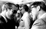 Burt Lancaster Photo - Paul Newman and Burt Lancaster 19778 Tom CaffreyGlobe Photos Inc Paulnewmanretro