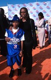 Lil Bow Wow Photo -  42002 Nickelodeons 2002 Kids Choice Awards at Barker Hanger CA Lil Bow Wow with His Mother Photo by Kelly JordanGlobe Photos Inc