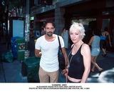 Alexander Siddig Photo -  8901 Alexander Siddig with Wife Nina Visitor in NYC Photo by Rick MacklerrangefinderGlobe Photos Inc