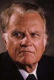 Billy Graham Photo - William Billy Graham Press Conference at New York Hilton Hotel 1991 A8033 Photo by Adam Scull-Globe Photos Inc