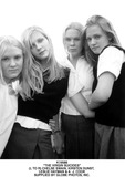 AJ Cook Photo - the Virgin Suicides (L to R) Chelse Swain Kirsten Dunst Leslie Hayman  a J Cook Supplied by Globe Photos Inc