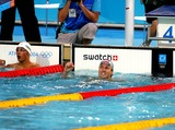 Aaron Peirsol Photo - Aaron Peirsol USA Swimming Athens Greece 16082004 Di585 Photo ByallstarGlobe Photos Inc 2004