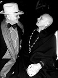 Yul Brynner Photo - Truman Capote and Yul Brynner at Studio 54 Globe Photos Inc Obit