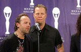 James Hetfield Photo - 1306 Waldorf-astoria Hotel NYC 21st Annual 2006 Rock and Roll Hall of Fame Induction Ceremony Photo Ken Babolcsay-ipol-Globe Photos Inc 2006 I10550kba James Hetfield Lars Ulrich Metallica