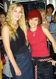 Ashlie Brillault Photo - Ashlie Brillault and Lalaine (Lizzie Mcguire) Party to Celebrate the New Express Flagship Store Hollywood CA August 1 2002 Photo by Nina PrommerGlobe Photos Inc2002