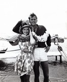 Troy Donahue Photo - Connie Stevens with Troy Donahue Hawaiian Eye in Hawaii Supplied by Globe Photos Inc