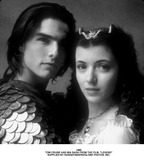 Mia Sara Photo - Tom Cruise and Mia Sara From the Film Legend Supplied by RangefindersGlobe Photos Inc