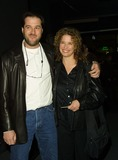 Nancy Travis Photo - Rob Fried Producer and His Wife Nancy Travis Worldly Acts - Theater Opening Tiffany Theatre West Hollywood CA January 25 2002 Photo by Nina PrommerGlobe Photos Inc 2002