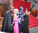 Audrey Hepburn Photo - the Today Show Celebrates Halloween Rockefeller Center New York City 10-31-2005 Photo by Barry Talesnick-ipol-Globe Photos 2005 Ann Curry As Audrey Hepburn AL Roker As Robin Katie Couric As Marilyn Monroe and Matt Lauer As Batman