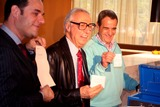 Amazing Kreskin Photo - The Amazing Kreskin Reveals the 2008 Presidential Winner at the World Bar United Nations Plaza New York City 11-06-2008 the Amazing Kreskin and Joey Reynolds Photo by Mark Kasner-Globe Photos Inc 2008